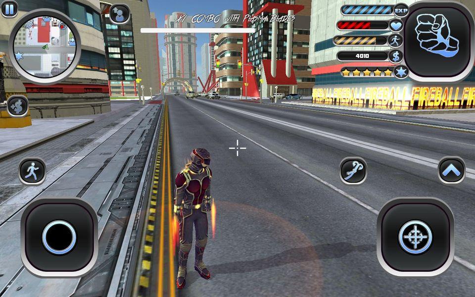 Скачать Amazing Hero: Man Of Justice на Андроид screen 4