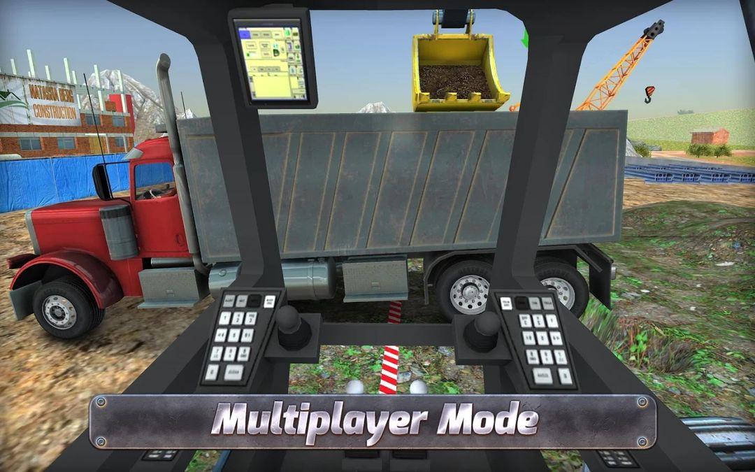 Скачать Construction Sim 2017 на Андроид — Мод много денег screen 4