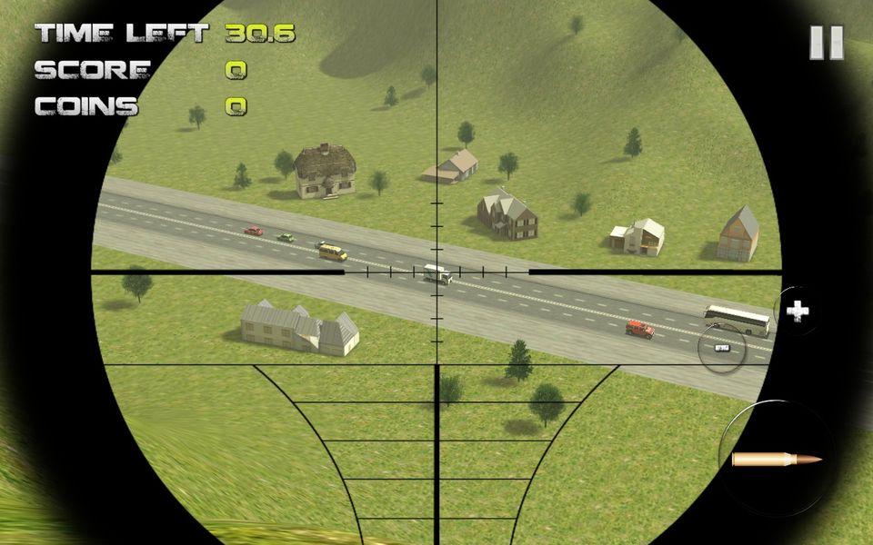 Скачать Sniper: Traffic Hunter на Андроид — Последняя версия screen 4