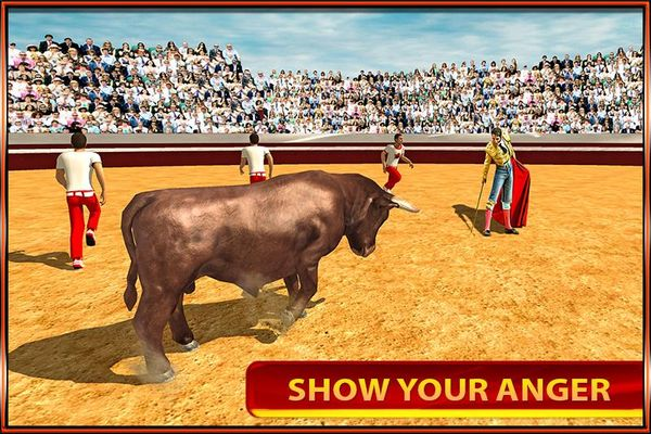 Скачать Angry Bull на Андроид screen 3