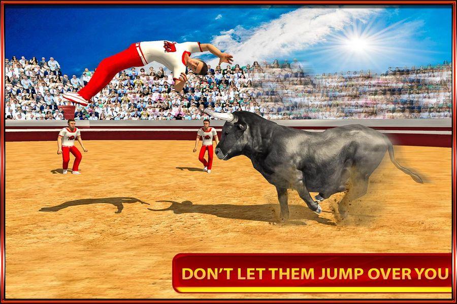 Скачать Angry Bull на Андроид screen 1