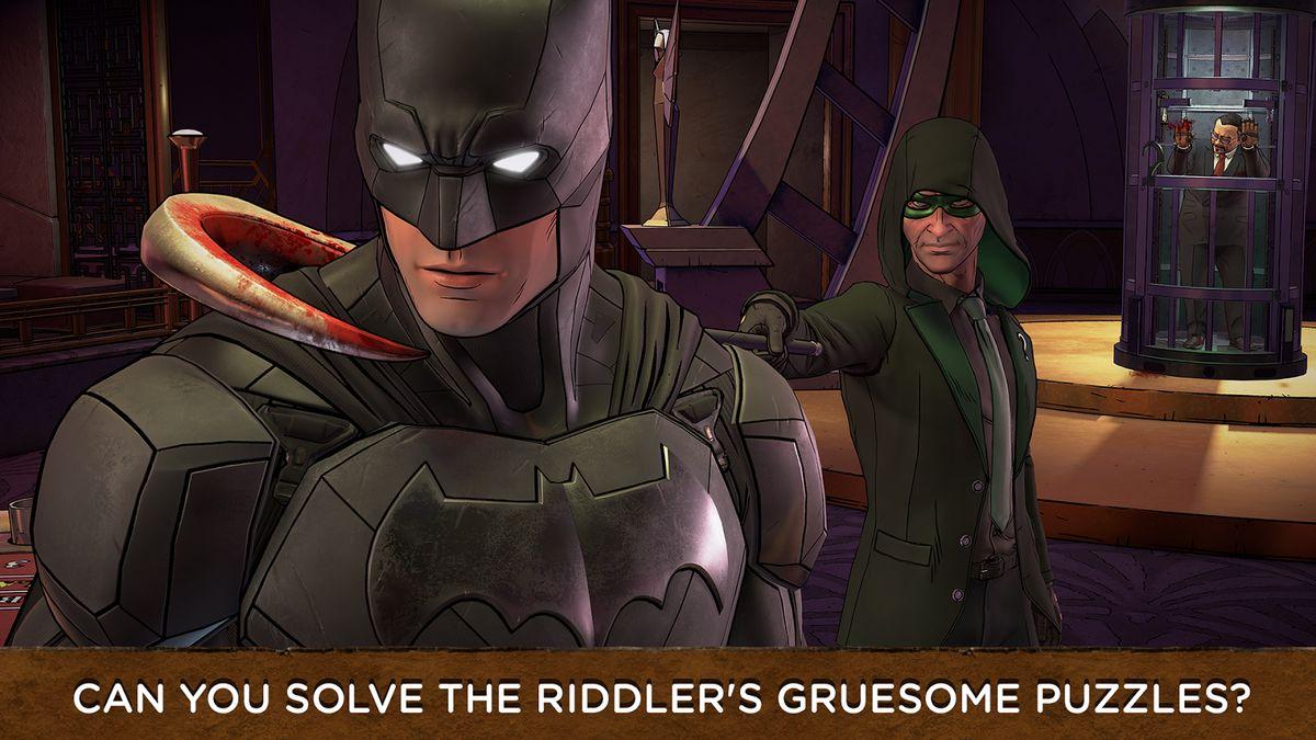 Скачать Batman: The Enemy Within на Андроид — Разблокированная версия screen 2