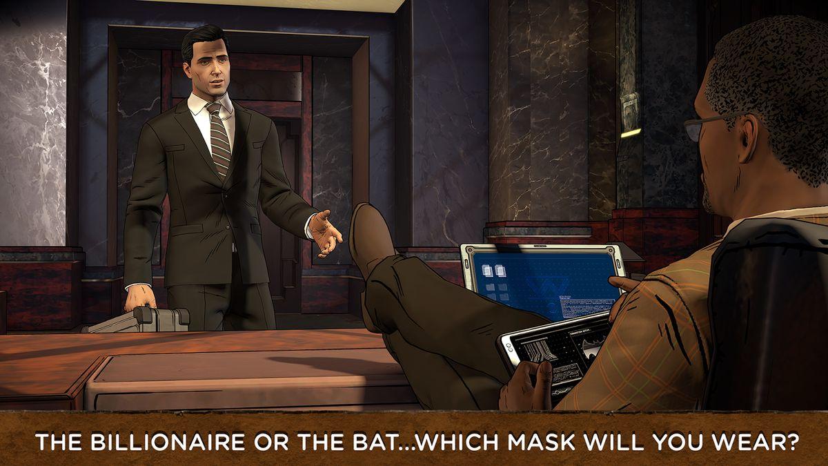 Скачать Batman: The Enemy Within на Андроид — Разблокированная версия screen 1