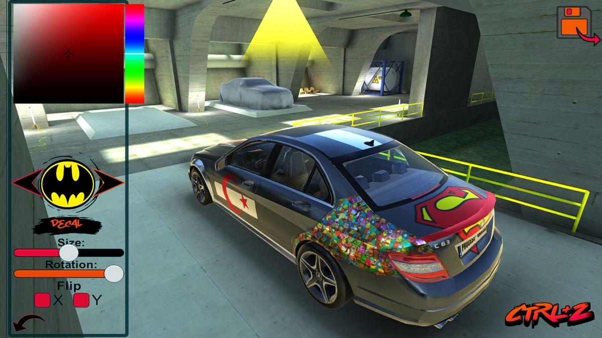 Скачать C63 AMG Drift Simulator на Андроид screen 3