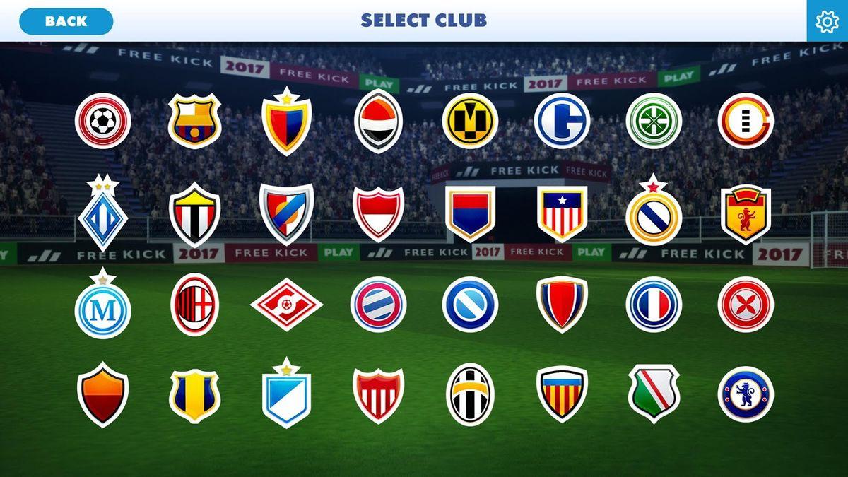 Скачать Football Champions Free Kick League 17 на Андроид screen 1