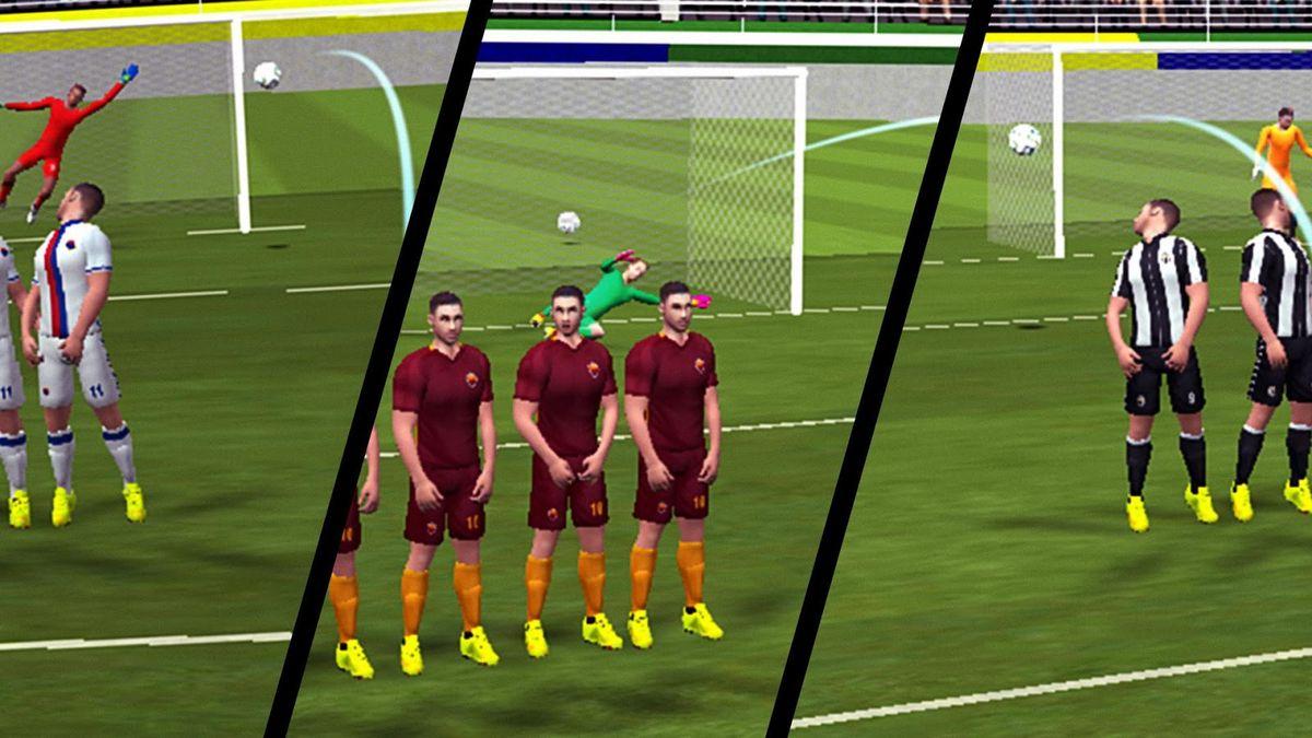 Скачать Football Champions Free Kick League 17 на Андроид screen 3
