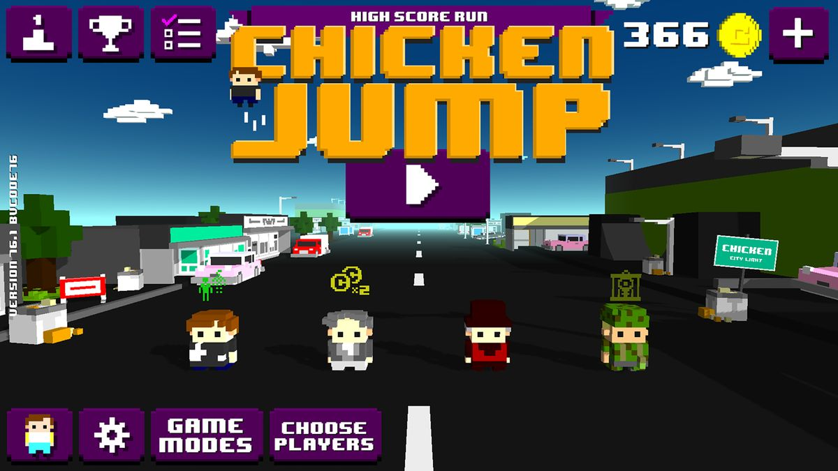 Скачать Chicken Jump — Crazy Traffic на Андроид screen 3