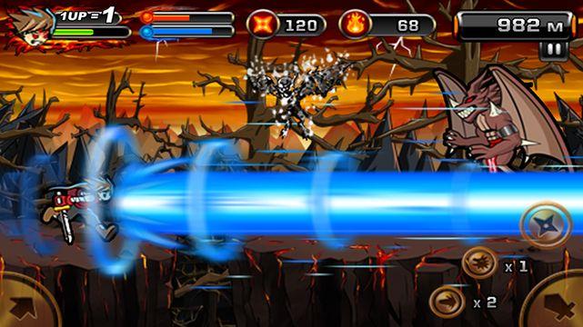 Скачать Дьявол Ниндзя 2 на Андроид — Полная версия screen 2