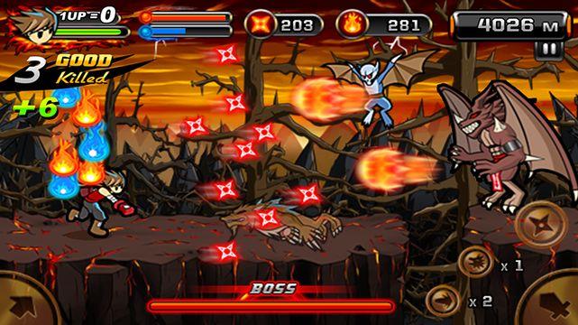 Скачать Дьявол Ниндзя 2 на Андроид — Полная версия screen 1