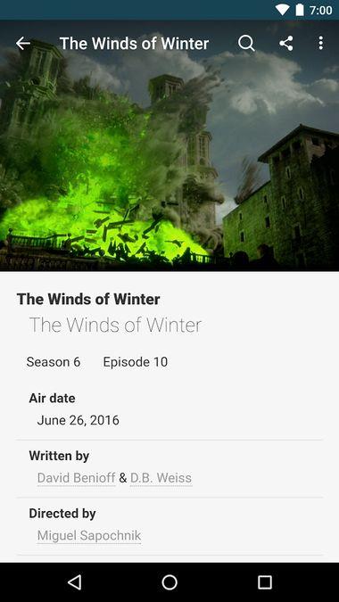 Скачать FANDOM for: GoT TV series на Андроид screen 1