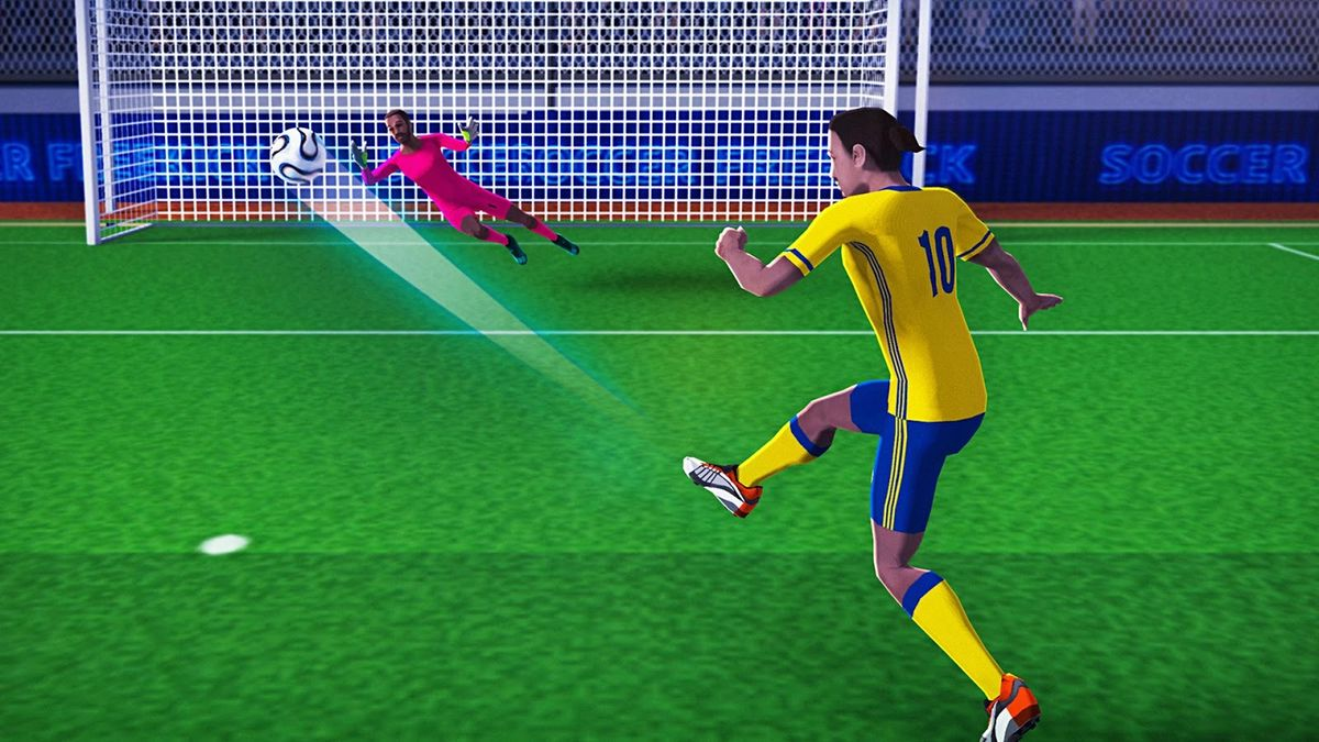 Скачать FreeKick Football World Cup на Андроид screen 3