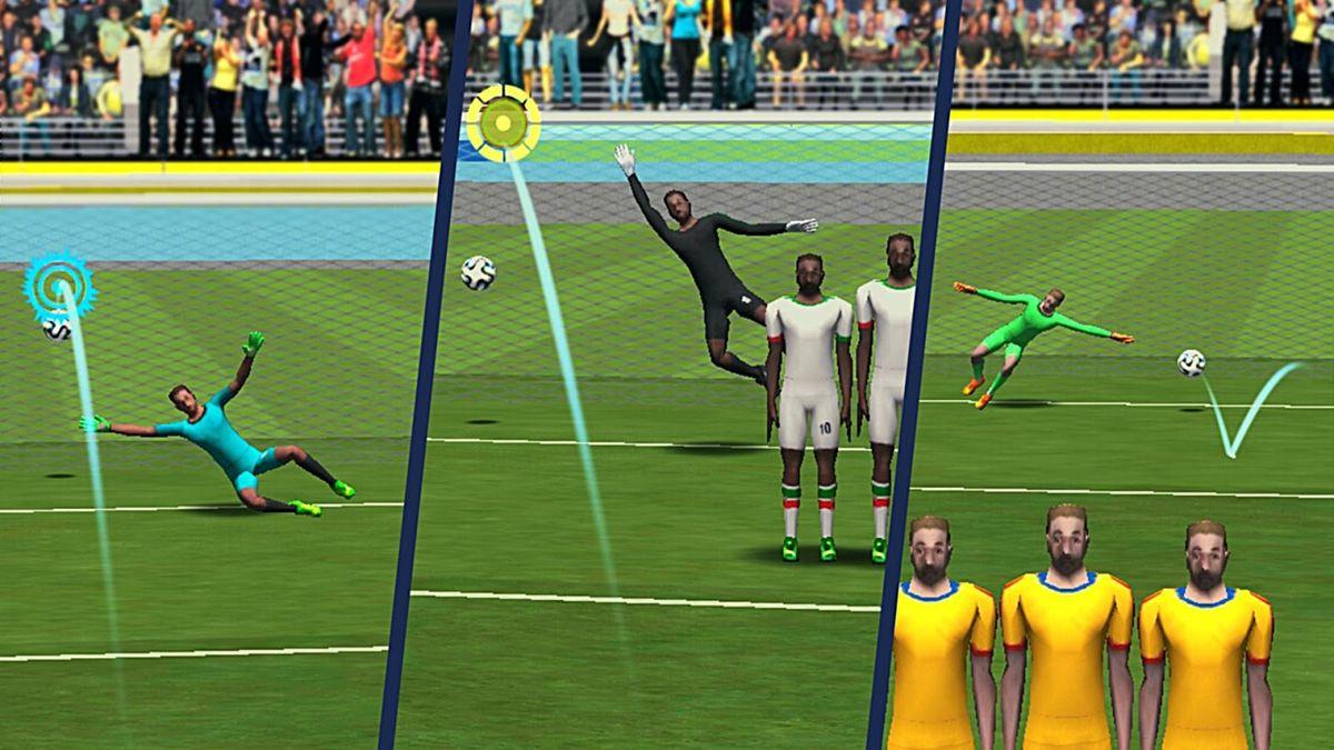 Скачать FreeKick Football World Cup на Андроид screen 2