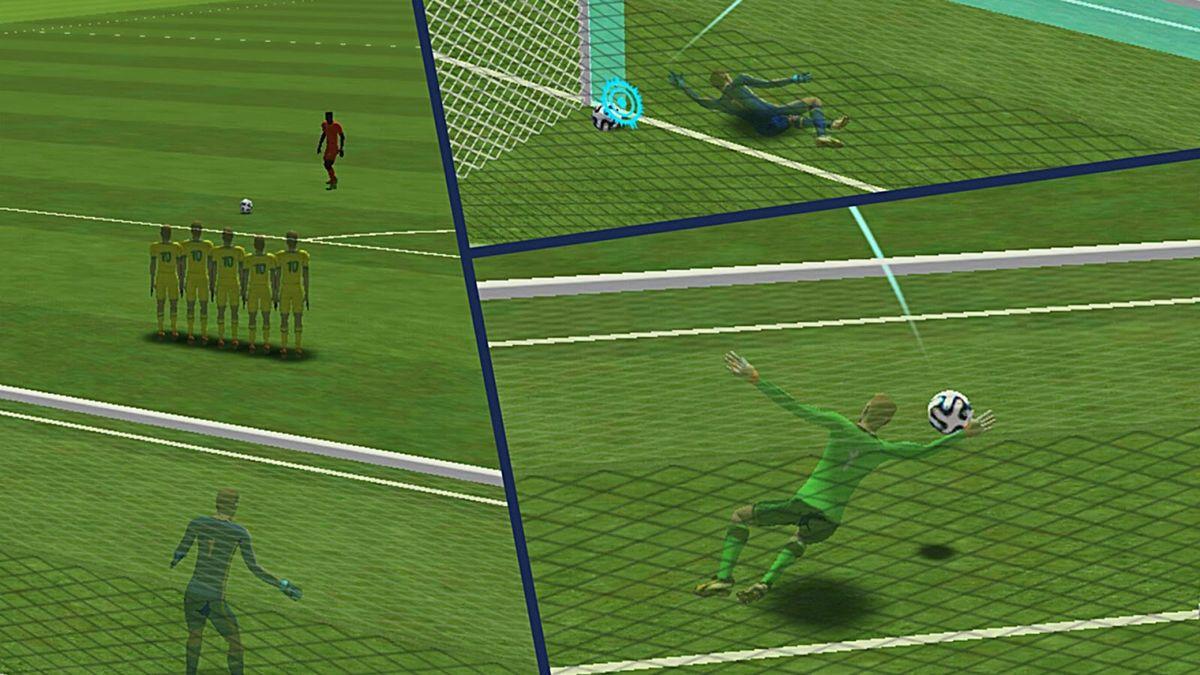 Скачать FreeKick Football World Cup на Андроид screen 1
