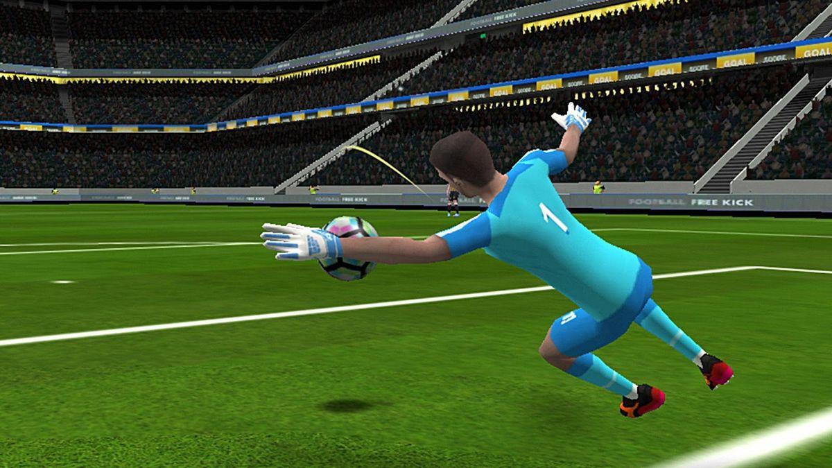 Скачать Freekick Football EUROPA League 18 на Андроид screen 3
