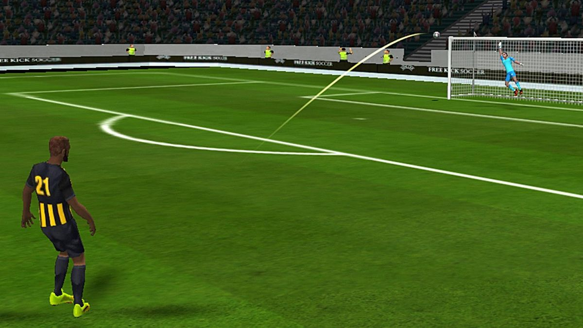 Скачать Freekick Football EUROPA League 18 на Андроид screen 2