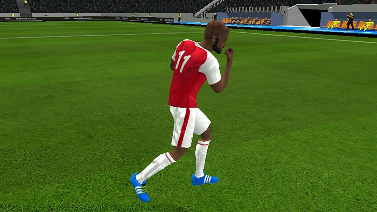 Скачать Freekick Football EUROPA League 18 на Андроид screen 1