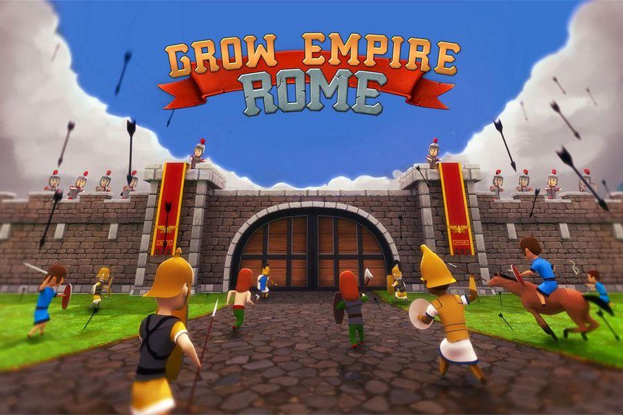 Скачать Grow Empire: Rome на Андроид — Мод много денег screen 1