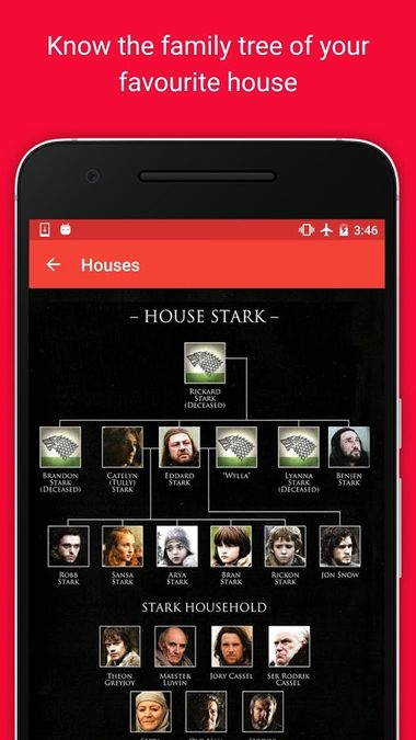 Скачать Guide: Game of Thrones на Андроид screen 4