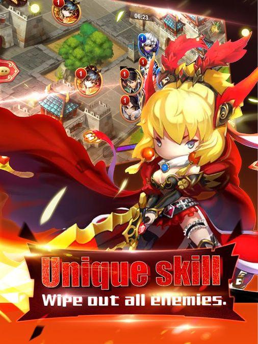 Скачать Heroes of 3 Kingdoms на Андроид — Полная версия screen 1