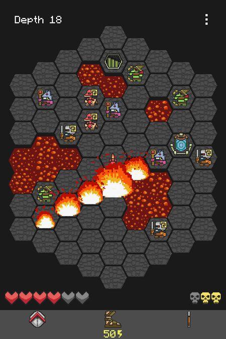 Скачать Hoplite на Андроид — Разблокированная версия screen 1