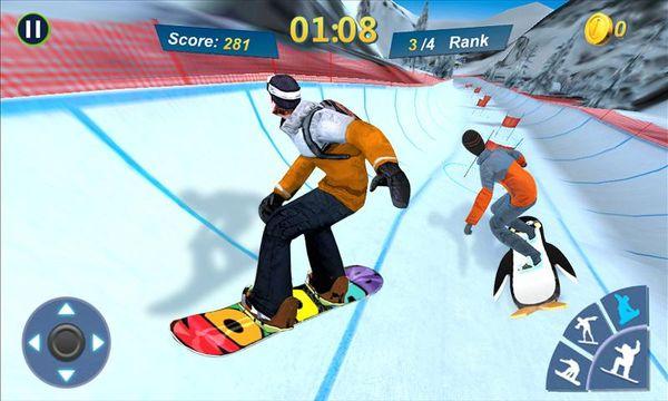 Скачать Мастер сноубординга 3D на Андроид — Русская версия screen 3