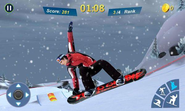 Скачать Мастер сноубординга 3D на Андроид — Русская версия screen 2