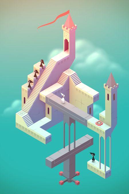 Скачать Monument Valley на Андроид — Мод открыто все screen 3