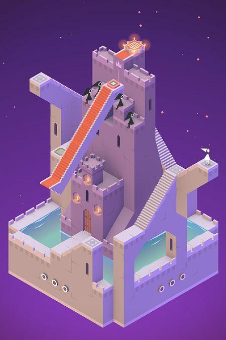 Скачать Monument Valley на Андроид — Мод открыто все screen 4