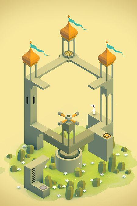 Скачать Monument Valley на Андроид — Мод открыто все screen 2