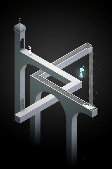 Скачать Monument Valley на Андроид — Мод открыто все screen 1