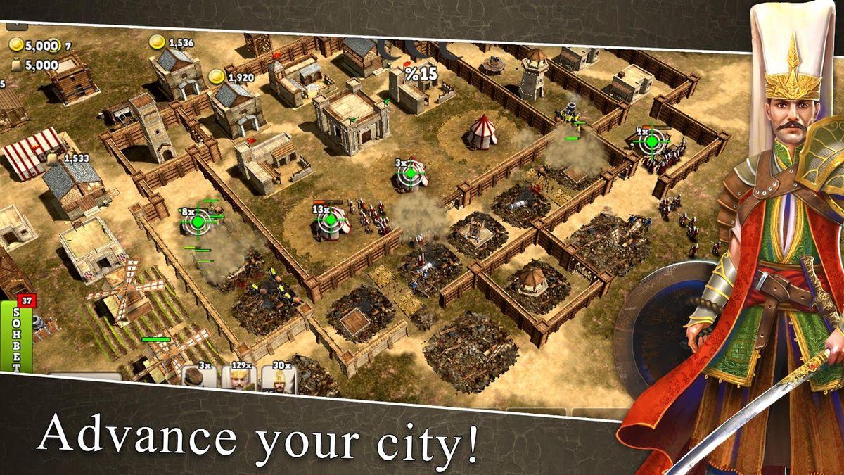 Скачать Ottoman wars на Андроид screen 2