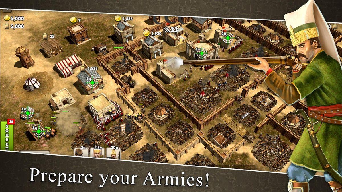 Скачать Ottoman wars на Андроид screen 3