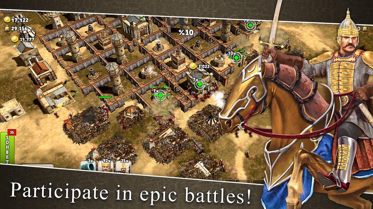 Скачать Ottoman wars на Андроид screen 1
