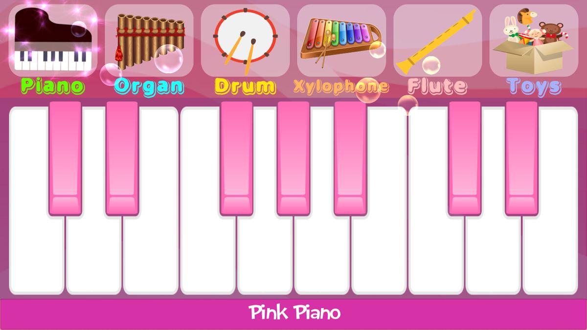 Скачать Pink Piano на Андроид screen 3