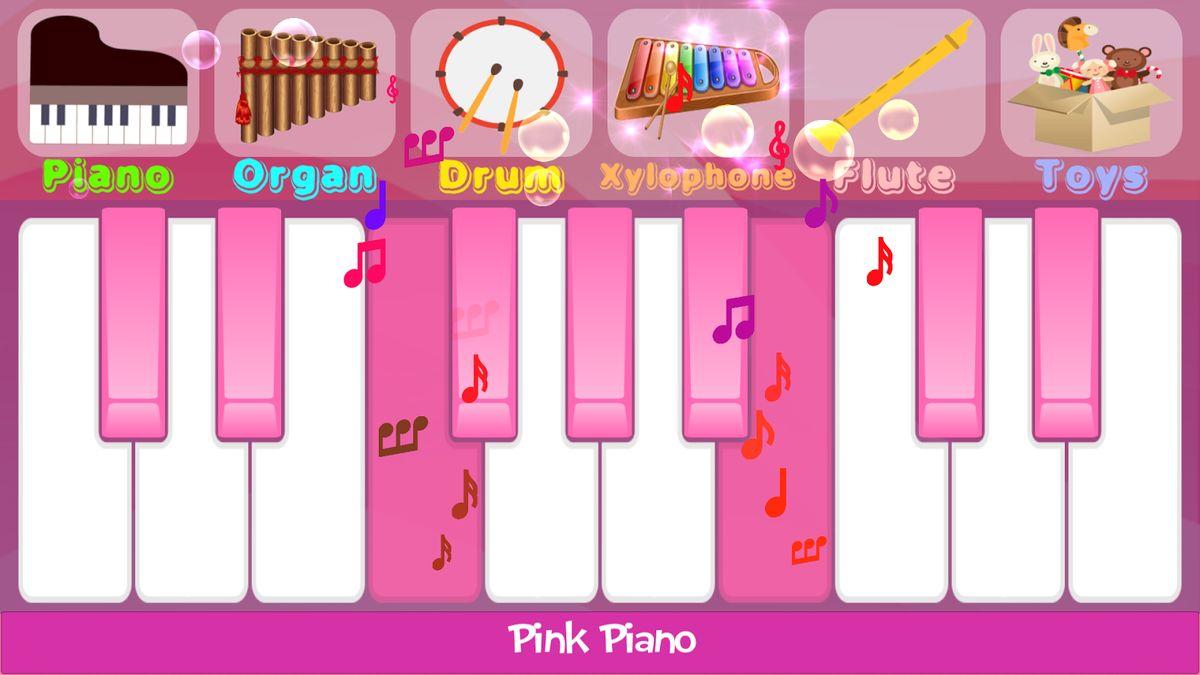 Скачать Pink Piano на Андроид screen 2