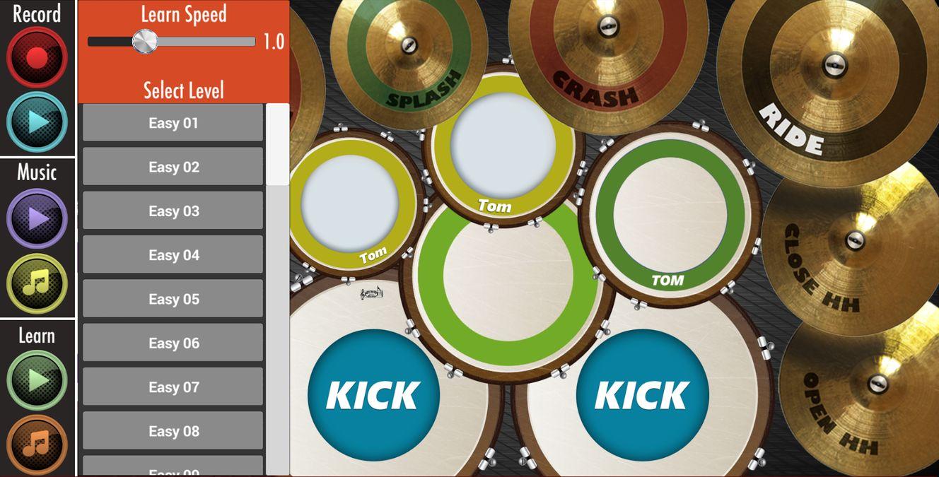 Скачать Real Drum : Play And Learn на Андроид — Полная версия screen 3