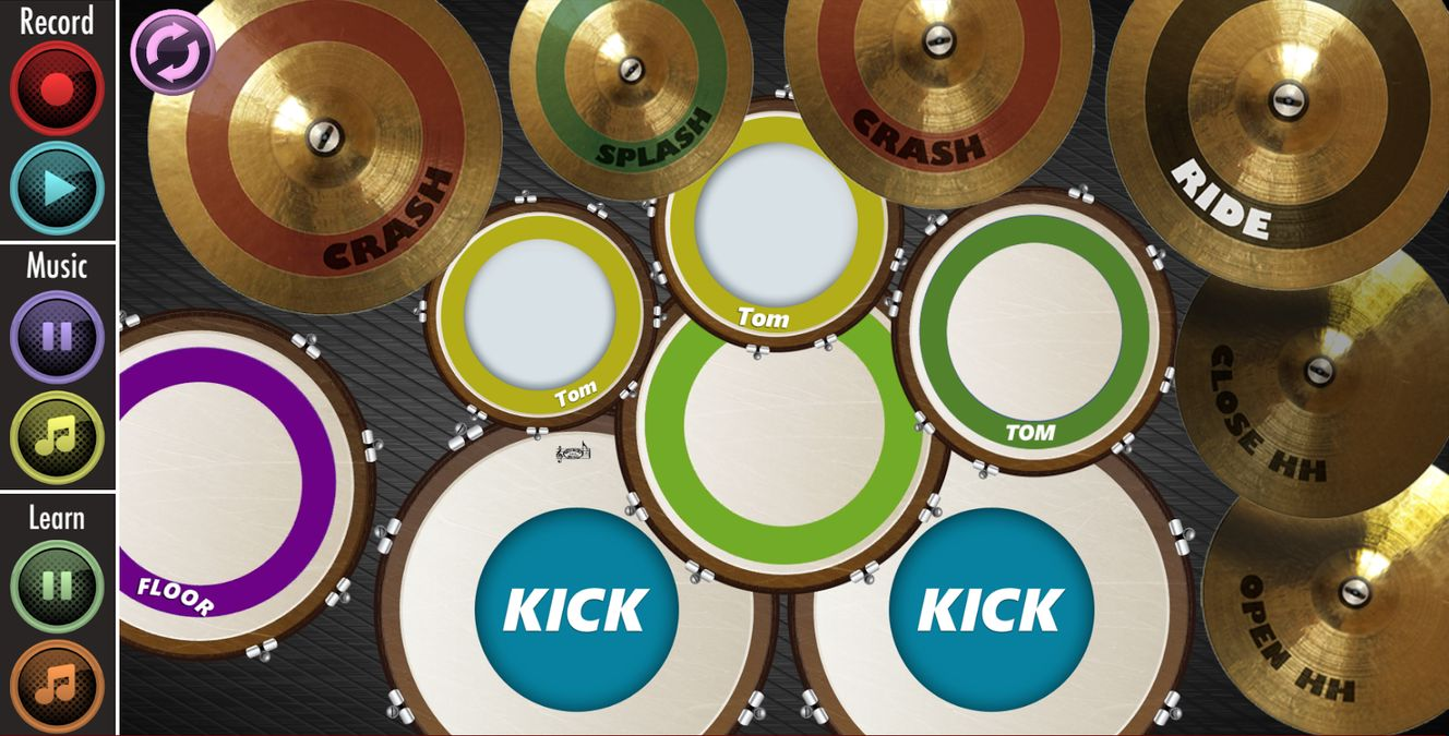 Скачать Real Drum : Play And Learn на Андроид — Полная версия screen 2