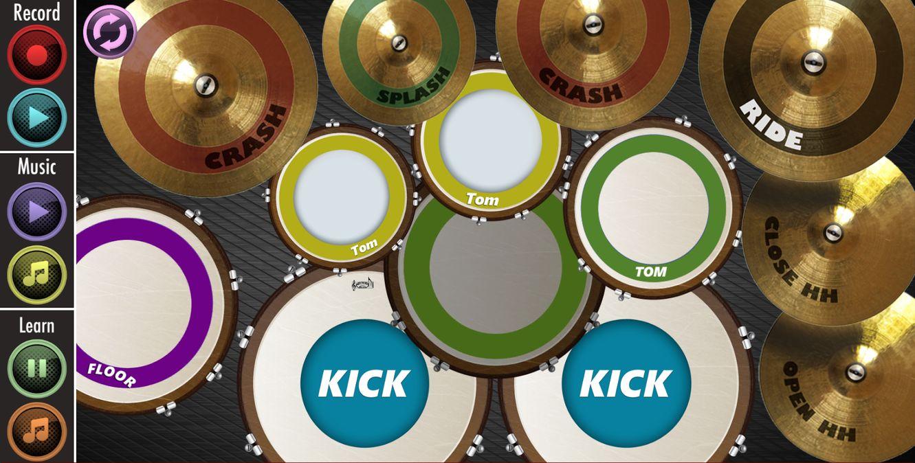 Скачать Real Drum : Play And Learn на Андроид — Полная версия screen 1