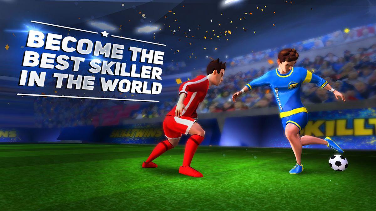 Скачать SkillTwins Football Game 2 на Андроид — Мод много денег screen 4