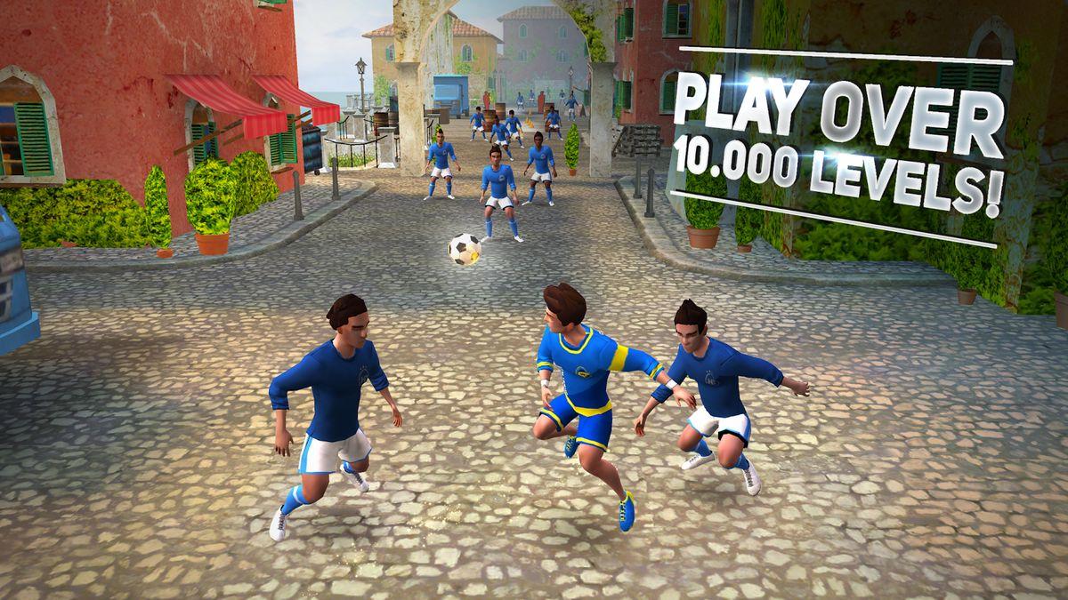 Скачать SkillTwins Football Game 2 на Андроид — Мод много денег screen 3