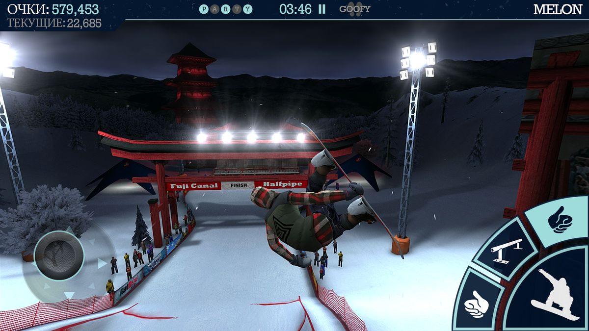 Скачать Snowboard Party на Андроид — Мод все доступно screen 4
