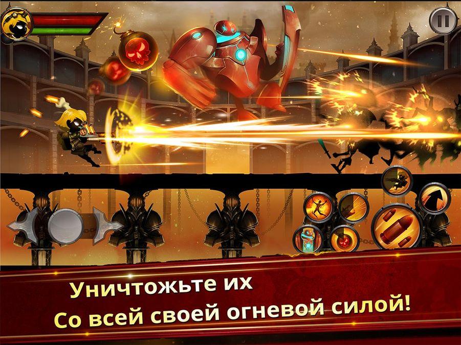 Скачать Stickman Legends Ninja Hero на Андроид — Мод много монет screen 1