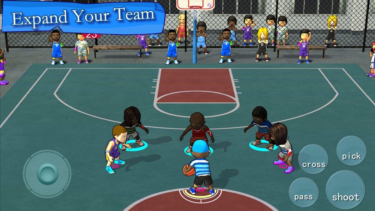 Скачать Street Basketball Association на Андроид — Полная версия screen 4