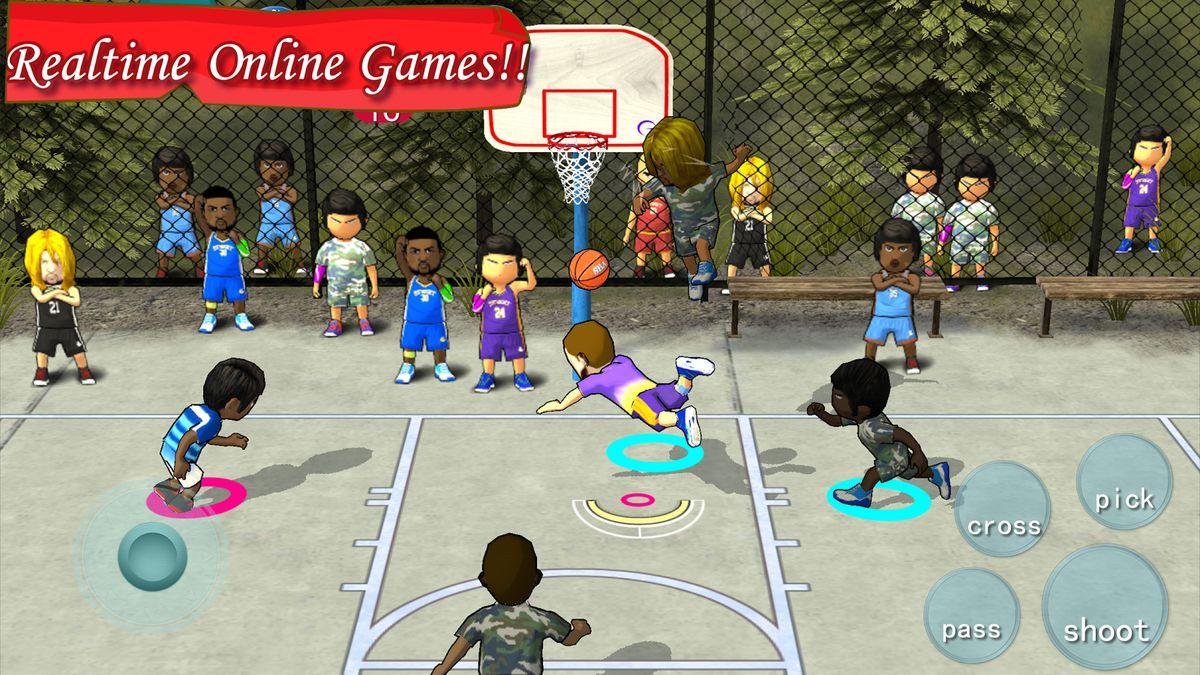 Скачать Street Basketball Association на Андроид — Полная версия screen 3