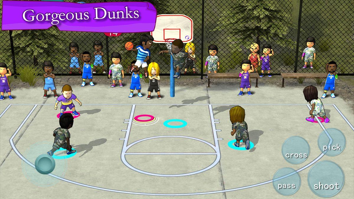 Скачать Street Basketball Association на Андроид — Полная версия screen 2