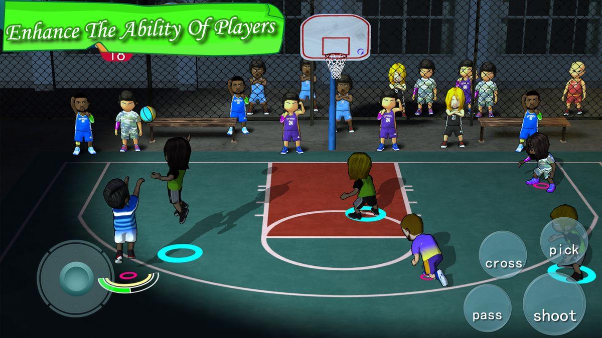Скачать Street Basketball Association на Андроид — Полная версия screen 1