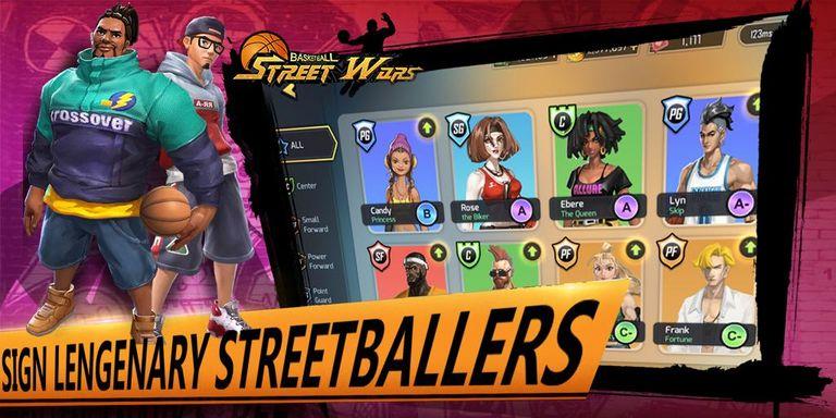 Скачать Street Wars: Basketball на Андроид — Последняя версия screen 4