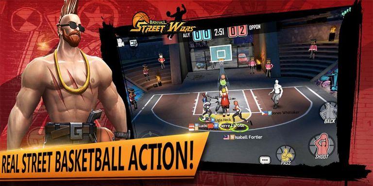 Скачать Street Wars: Basketball на Андроид — Последняя версия screen 3