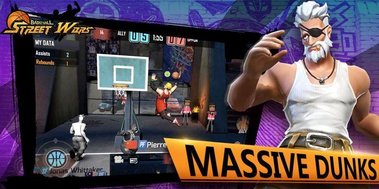 Скачать Street Wars: Basketball на Андроид — Последняя версия screen 1