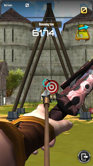 Скачать Стрельба из лука большой матч на Андроид screen 1